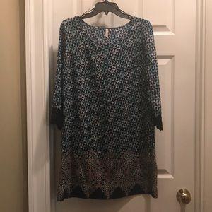 Dresses & Skirts - Women's quarter sleeve length dress